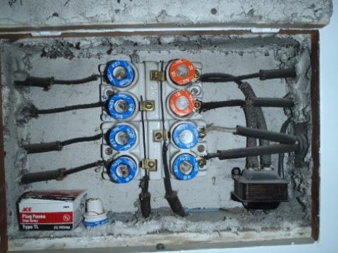 Old Fuse Panels